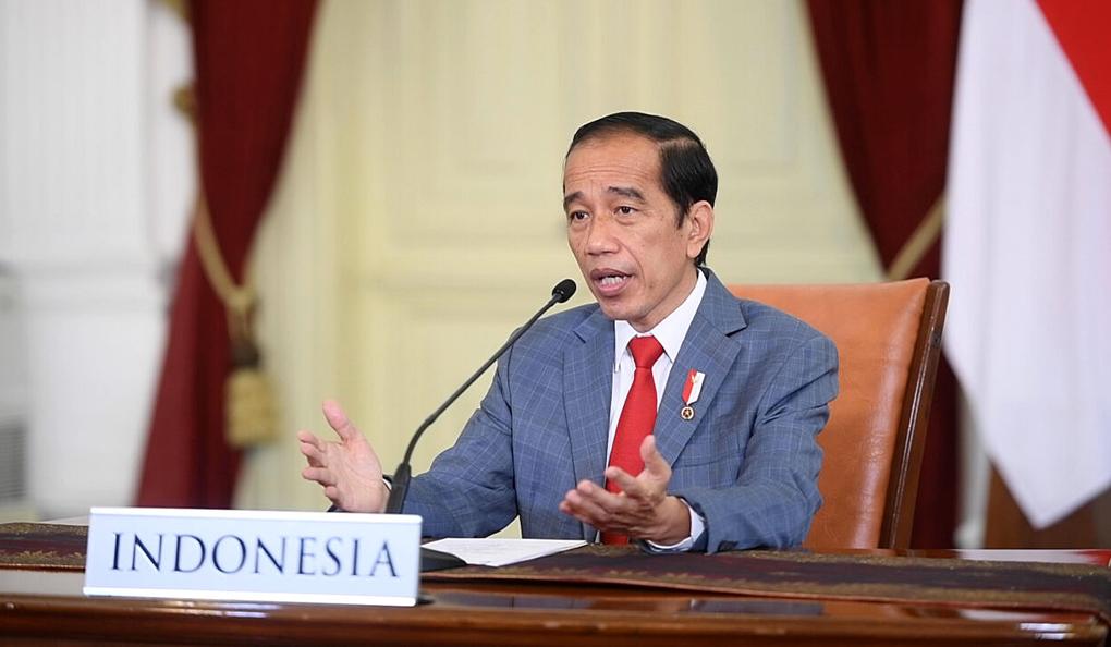 Presiden Jokowi Sampaikan Pidato pada KTT Perubahan Iklim