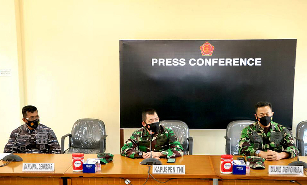 Kapuspen TNI: TNI Kerahkan 21 KRI Cari Kapal Selam Nanggala-402