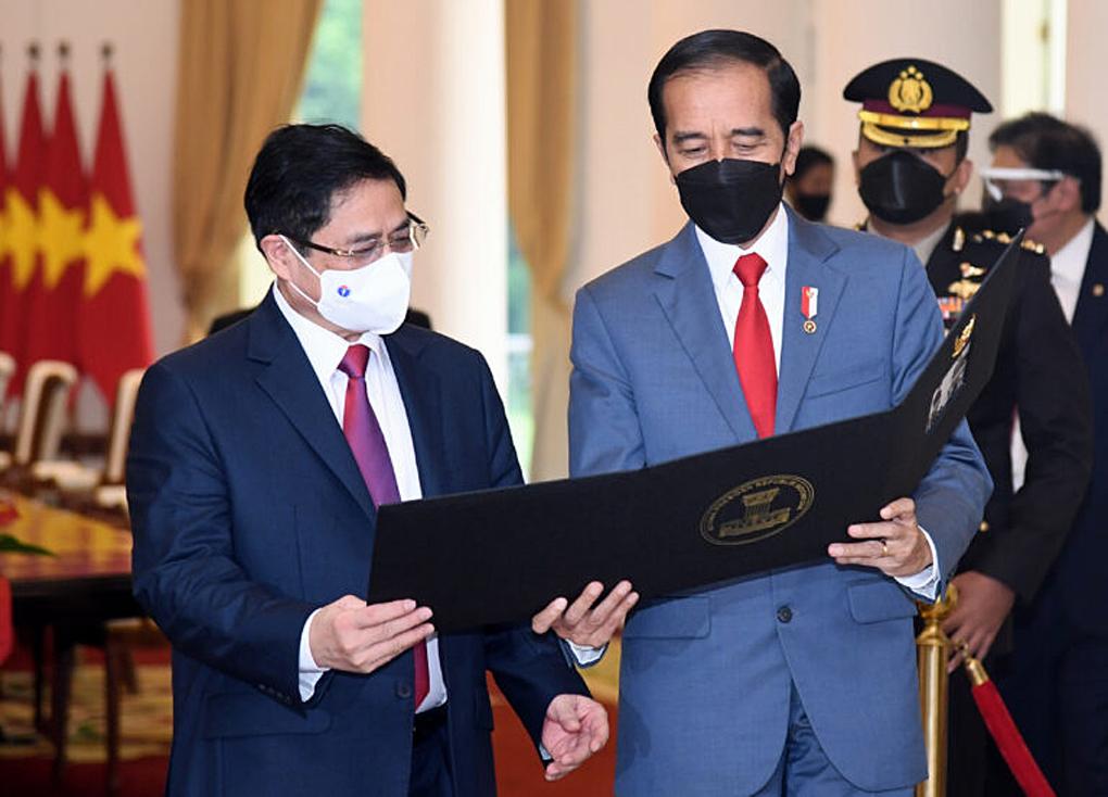 Pertemuan Bilateral Presiden RI dengan Perdana Menteri Vietnam