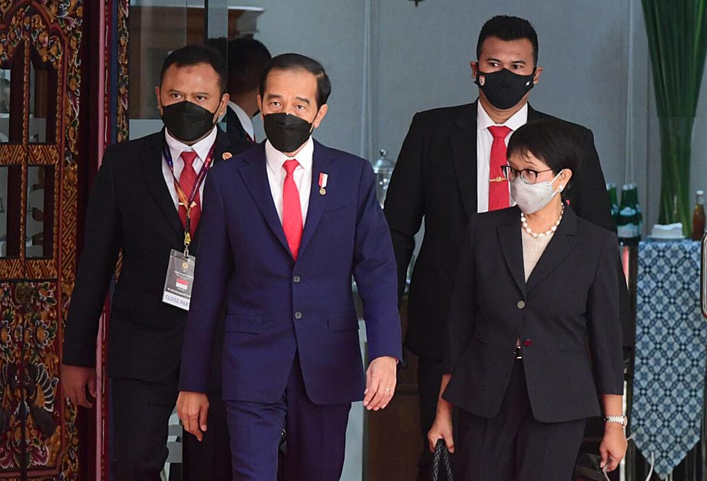 Hadir di ASEAN Leaders Meeting, Presiden Jokowi dan Para Pemimpin ASEAN Bahas Situasi Myanmar