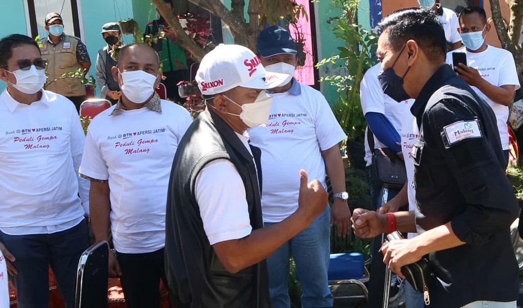 Renovasi Rumah Korban Gempa
