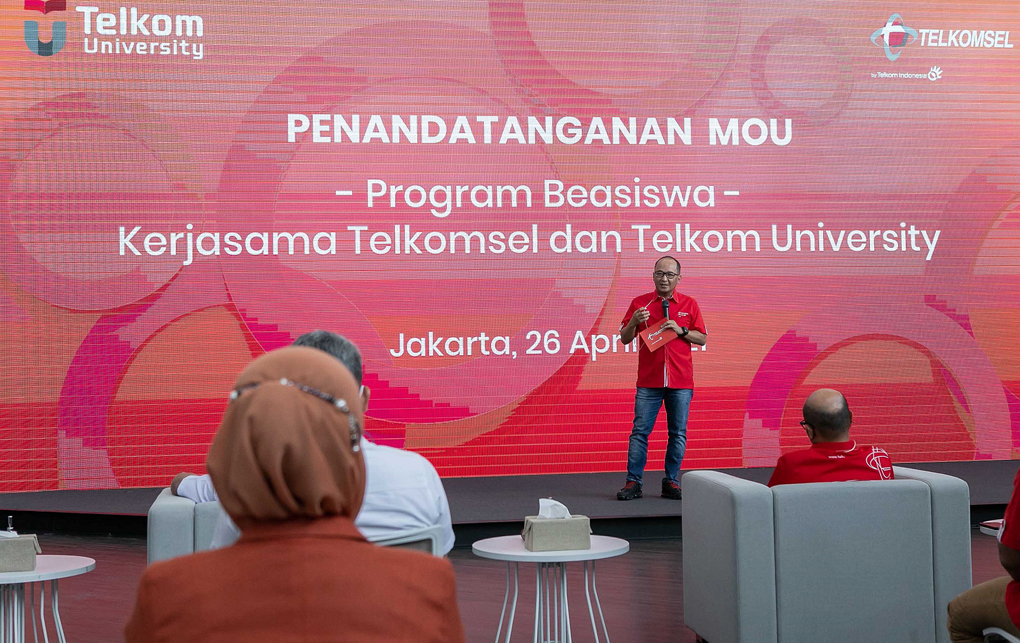 Telkomsel dan Telkom University Berkolaborasi Hadirkan Program Beasiswa