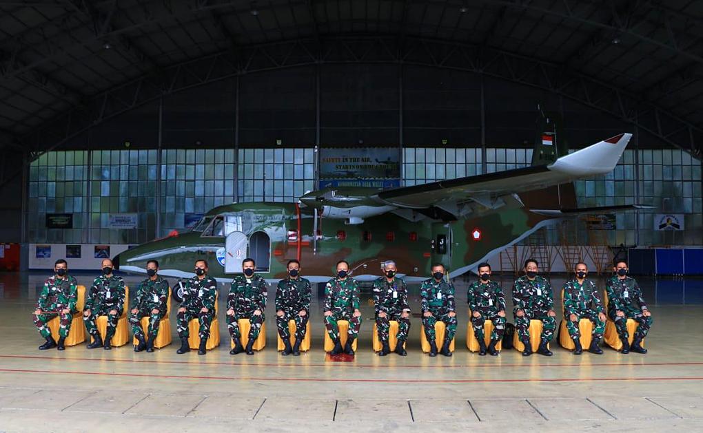 9 Pesawat Produksi Dalam Negeri Perkuat Skadron Udara 4