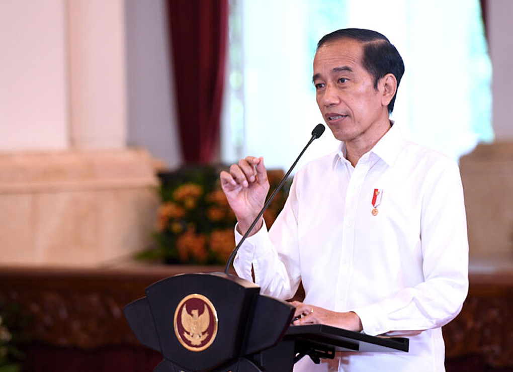 Presiden Jokowi Buka Musrenbangnas Tahun 2021