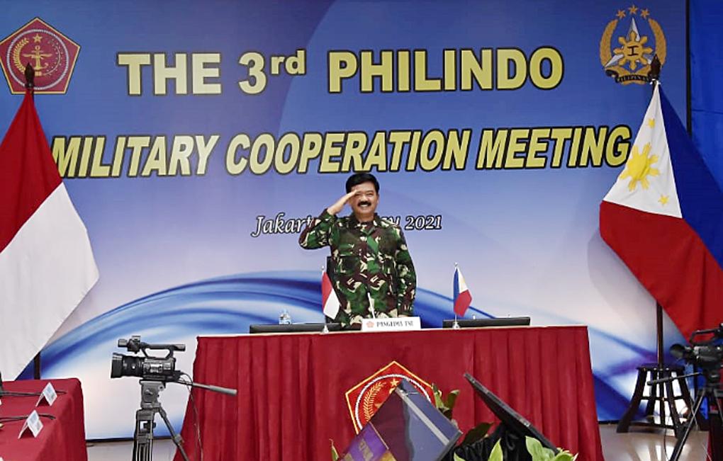 Panglima TNI Buka Sidang Philindo MC Ke-3 Tahun 2021 Secara Virtual