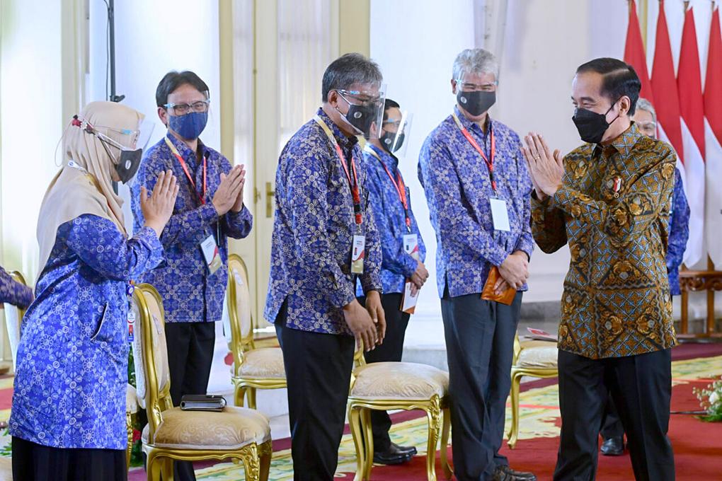 Presiden Jokowi Buka Rakornas Pengawasan Intern Pemerintah Tahun 2021