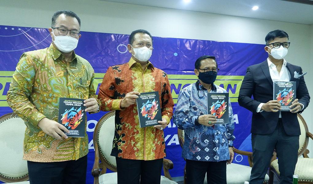 Diskusi Peluncuran Buku Tata Negara Tanpa Arah