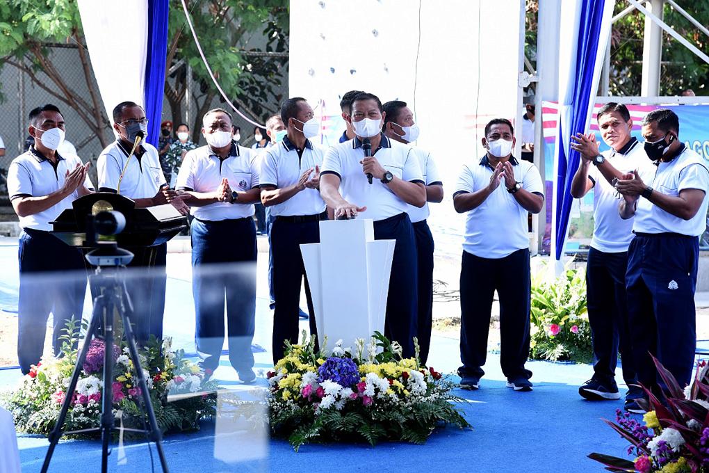 Kasal Resmikan Fasilitas Watpers di Pondok Dayung