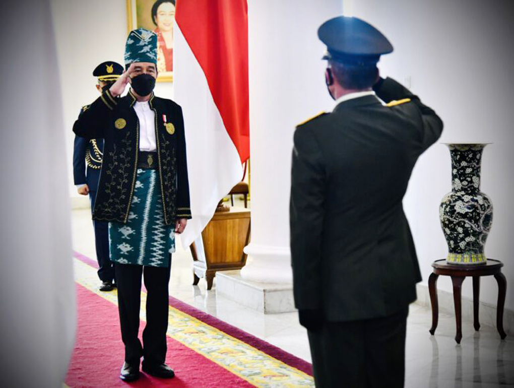Presiden Jokowi Pimpin Upacara Peringatan Hari Lahir Pancasila Tahun 2021