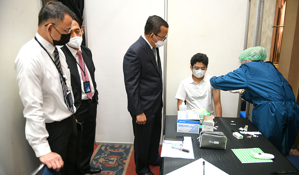 BTN Mulai Melakukan Vaksinasi Gotong Royong