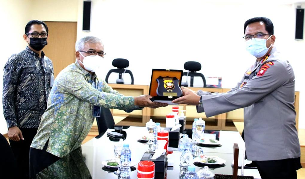 BTN Audiensi ke Polda Kalimantan Barat