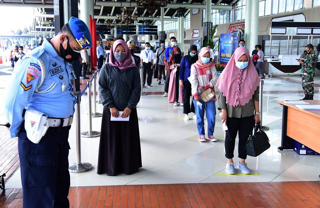 Peserta Vaksinasi TNI AU-Kombata, Doakan Masyarakat yang Meninggal selama Pandemi Covid-19
