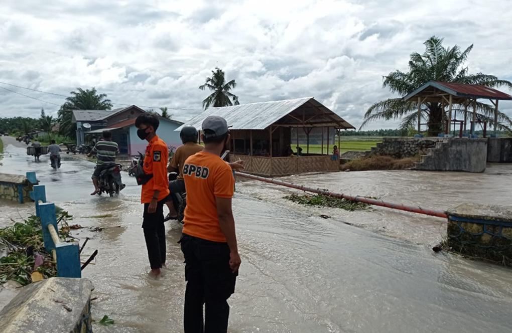 Sebanyak 1.451 Rumah di Kabupaten Batu Bara Terendam Banjir