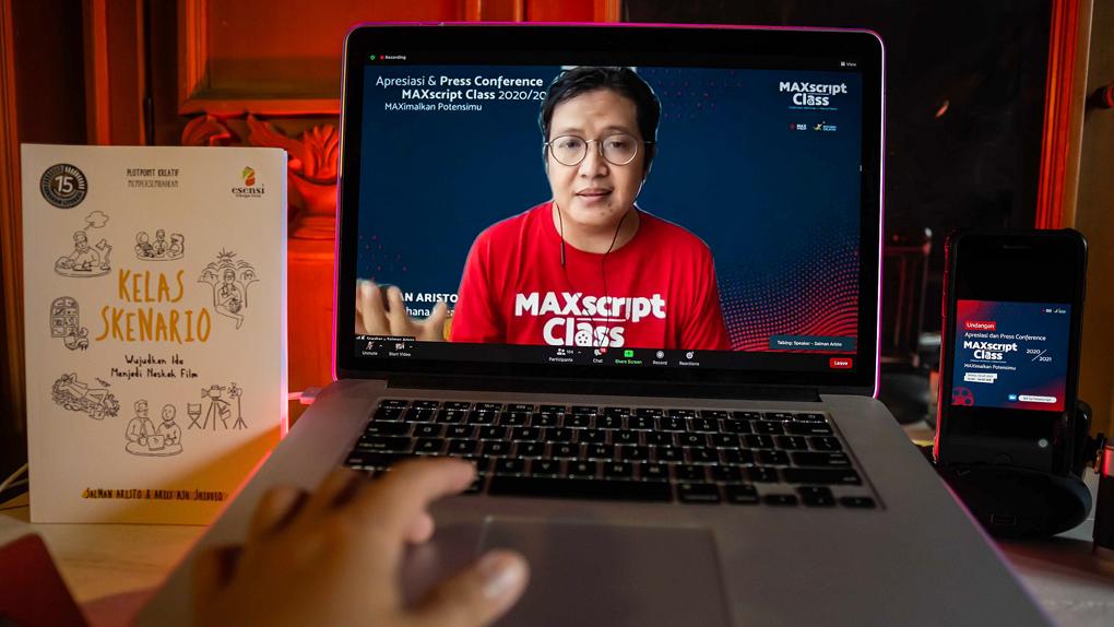 Telkomsel Gelar MAXscript Class Awards 2020, Dorong Lahirnya Talenta Kreatif Unggul