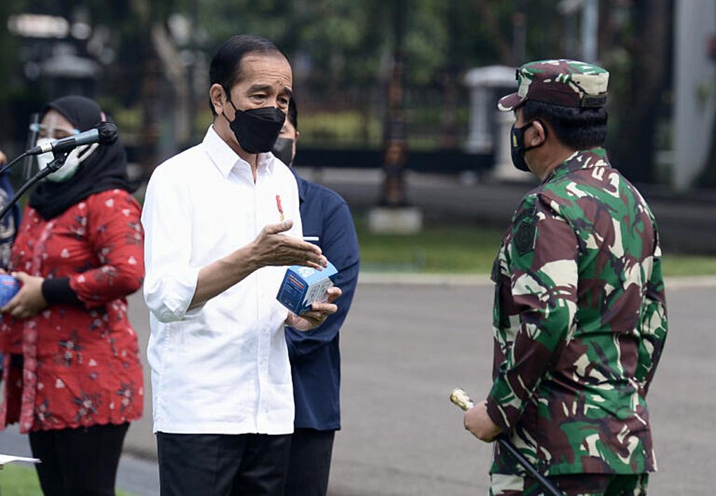 Presiden Jokowi Luncurkan Pemberian Obat Isoman Gratis untuk Rakyat