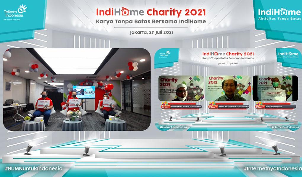 Bantuan Program Indihome Charity 2021