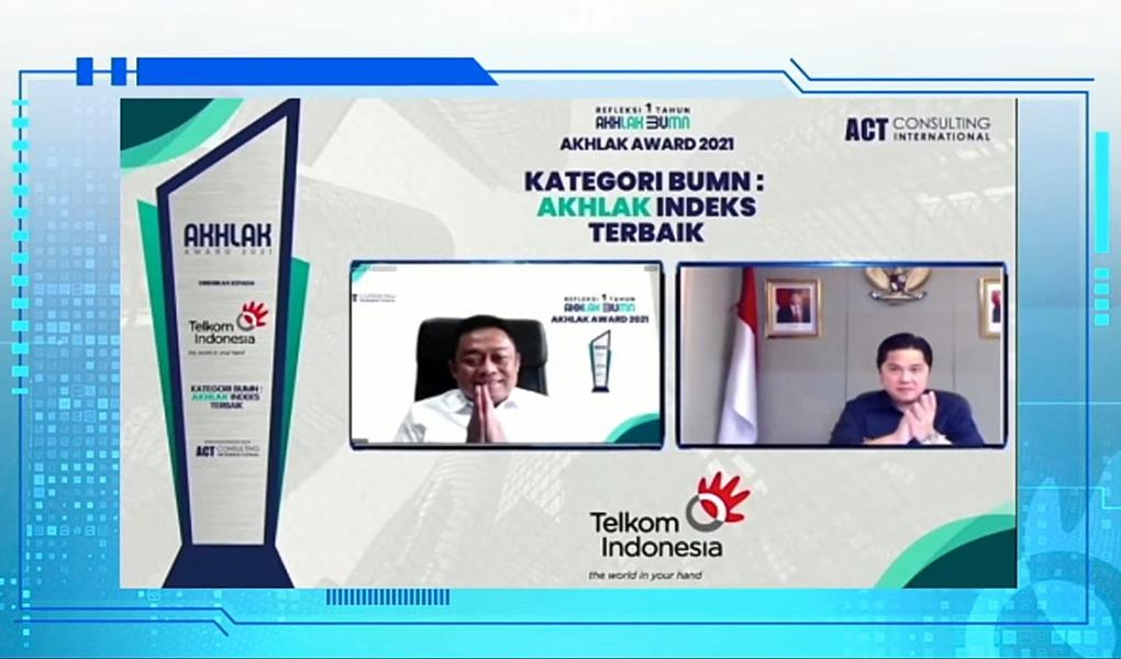 TelkomGroup Canangkan Komitmen Perkuat Implementasi Nilai AKHLAK Demi Akselerasi Digital Indonesia