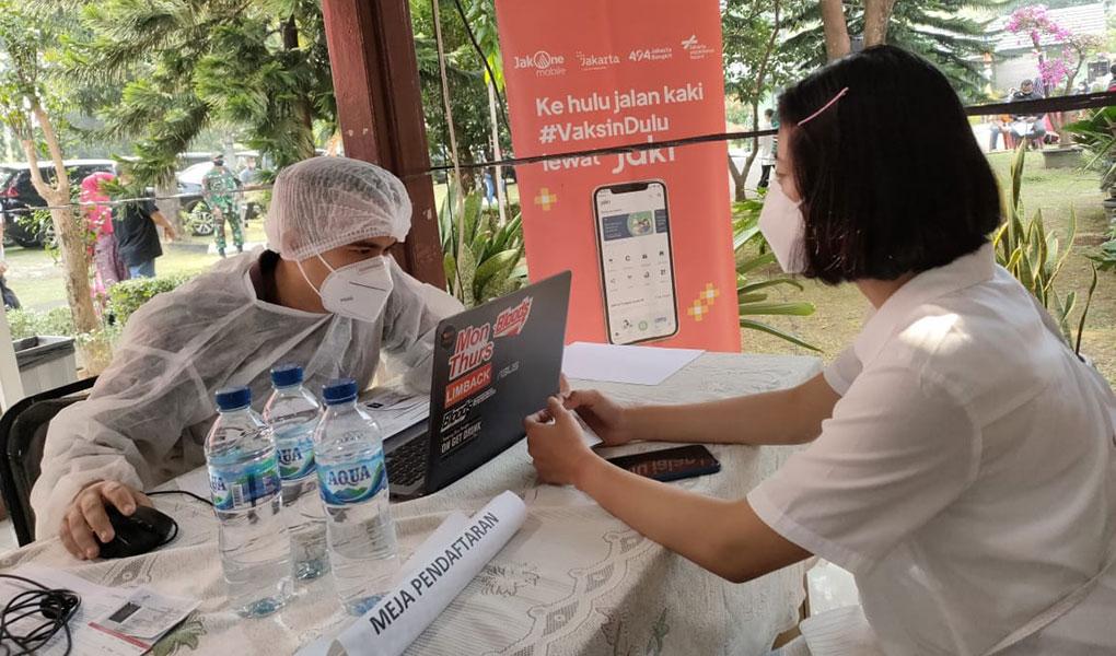 Bank DKI Dukung Program Mobil Vaksin Keliling