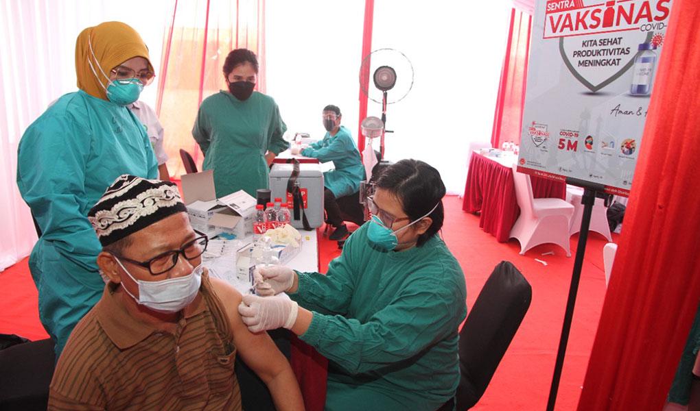 Bank DKI Gelar Vaksinasi Dosis Ke 2