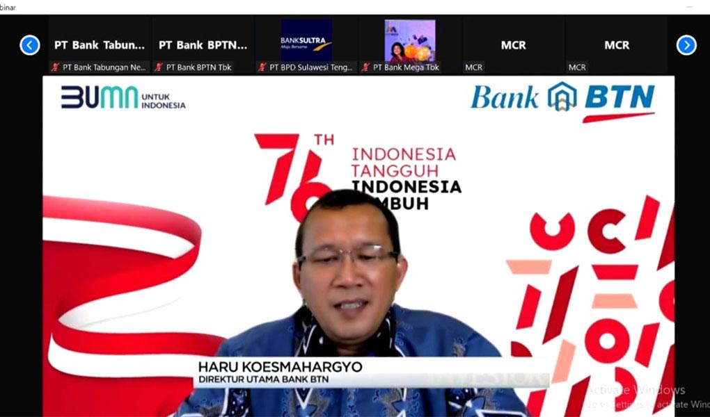 BTN Raih Penghargaan Bank Terbaik 2021