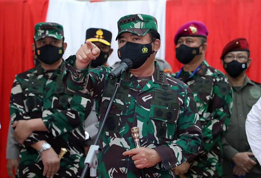 Panglima TNI: Tracing Kontak Erat Covid-19 Secara Merata Harus Diperkuat di Sulawesi Utara