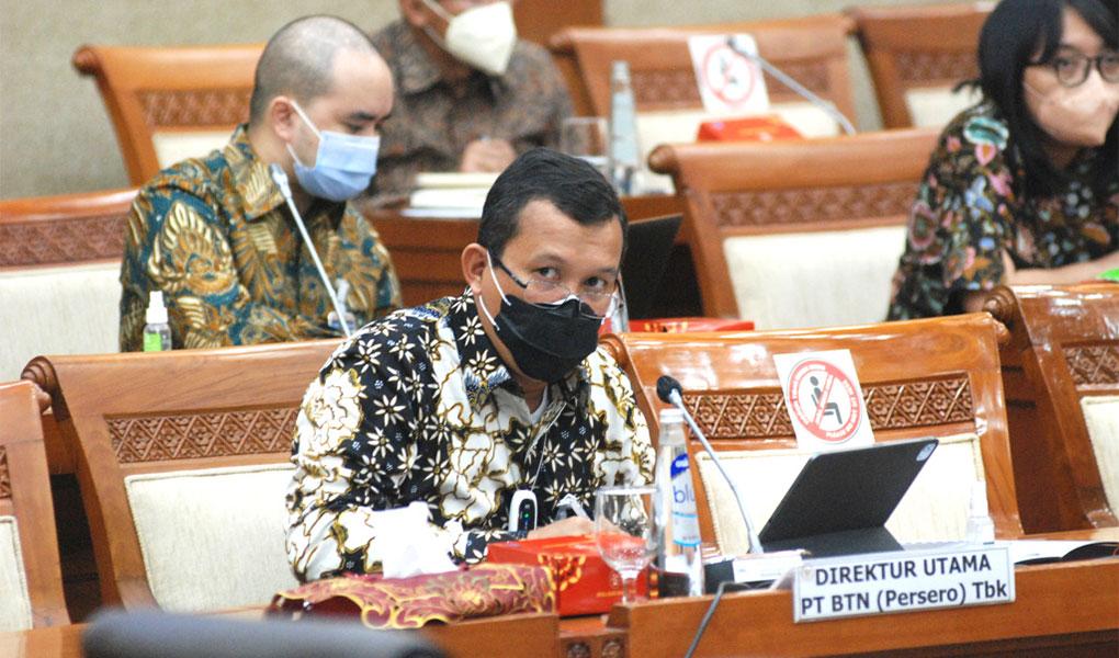 Butuh PMN, Dirut BTN Beri Penjelasan Komisi VI DPR RI