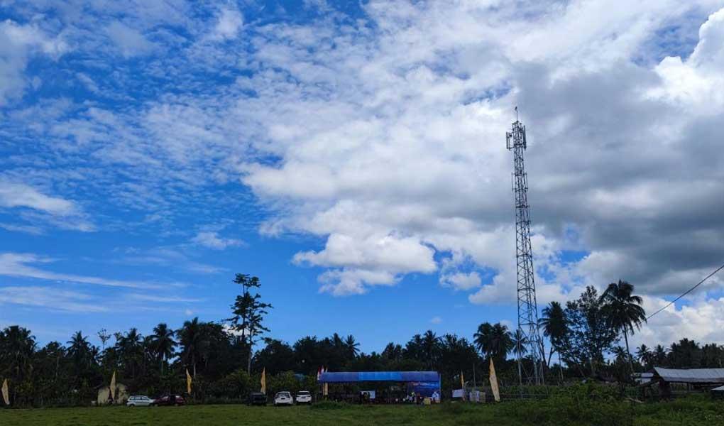 Peresmian Layanan 4G Desa Ondo-Ondolu