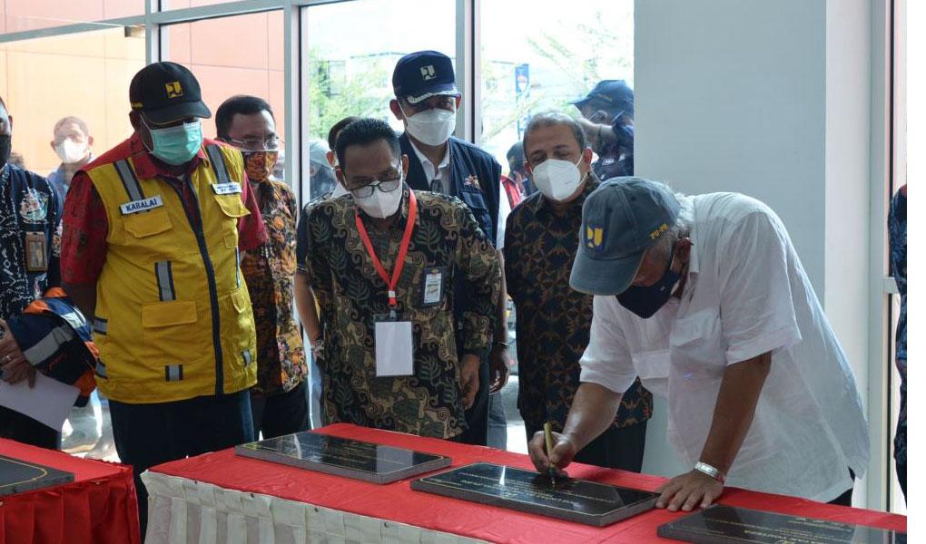 Presiden RI Joko Widodo Resmikan Istora Papua Bangkit