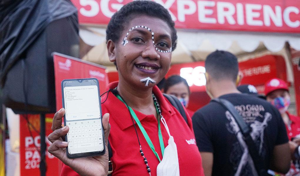 Telkomsel Hadirkan Akses Pengalaman 5G Pertama di Papua