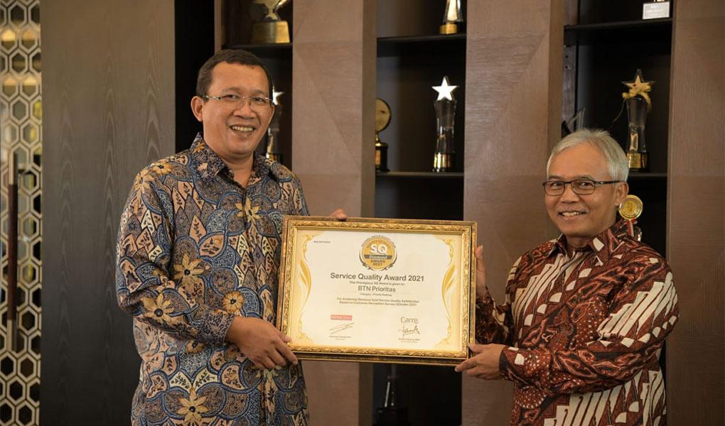 BTN Raih Penghargaan Best Priority Banking