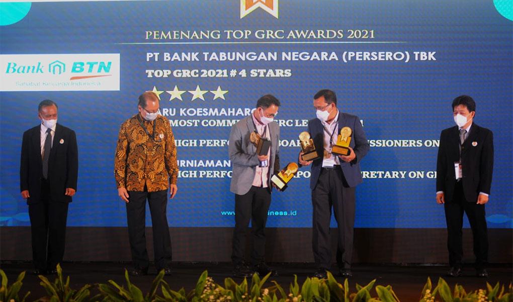 Bank BTN Borong Penghargaan GRC
