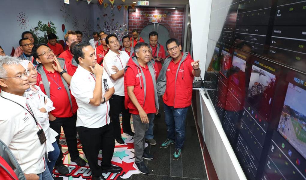TelkomGroup Kawal Kualitas Layanan Prima di Pergantian Tahun 2019