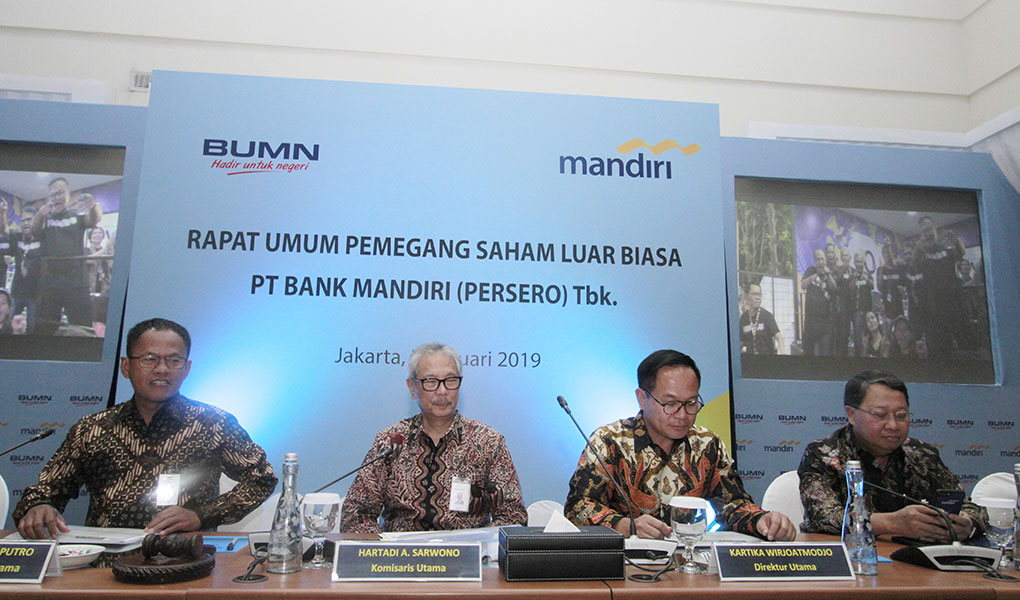 RUPSLB Bank Mandiri