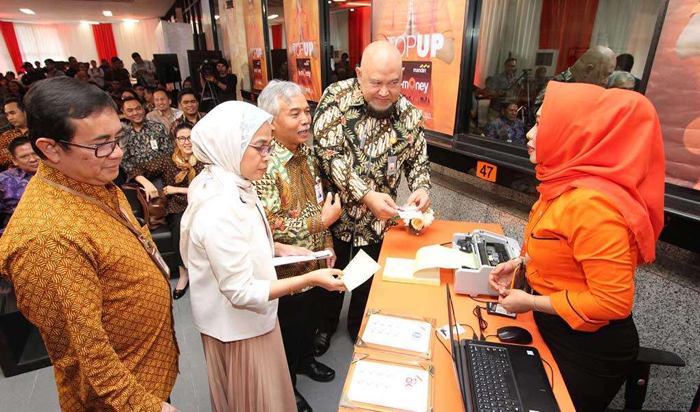 Top up e-money di Kantor Pos