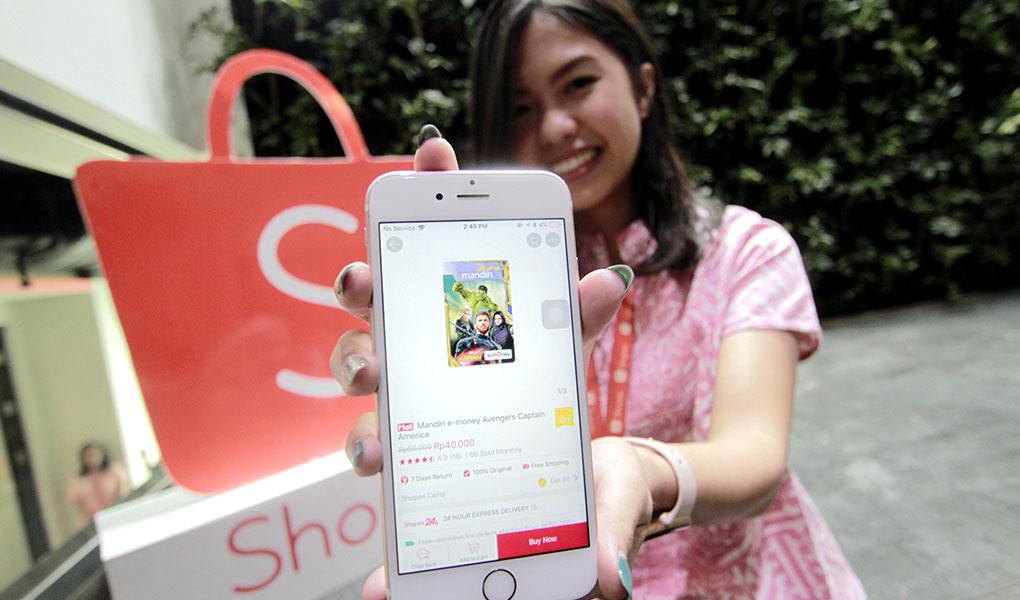 Mandiri e-store di Shopee
