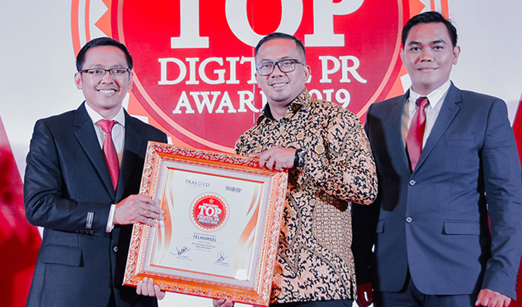 TOP Digital Public Relations Award 2019