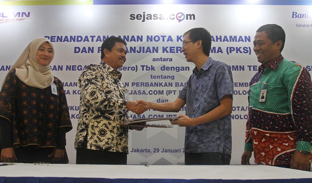 Dorong KPR Mikro, Bank BTN Gandeng Sejasa.com