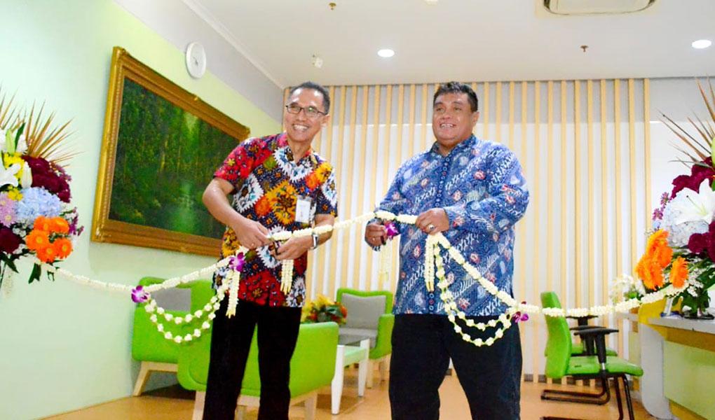 Peresmian Lounge Khusus Mandiri Inhealth di RS PHC
