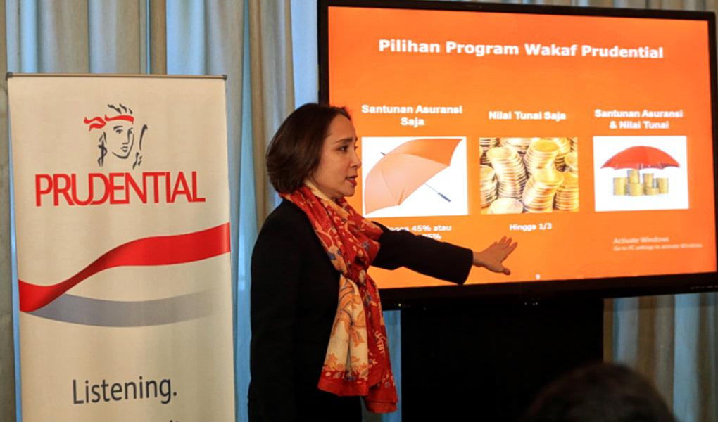 Prudential Perkenalkan Program Wakaf dari PRUsyariah