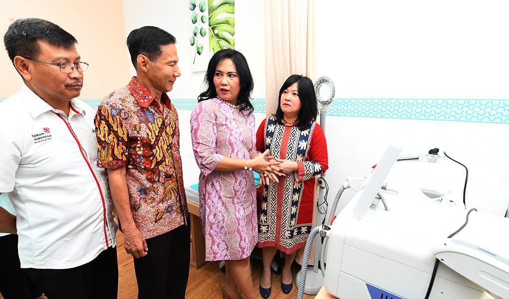 Telkom Medika Resmikan Klinik Estetidarma