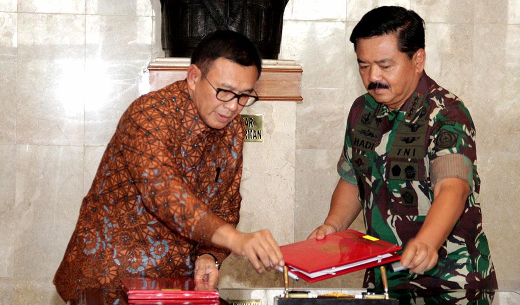 Kerjasama BNI Dan TNI