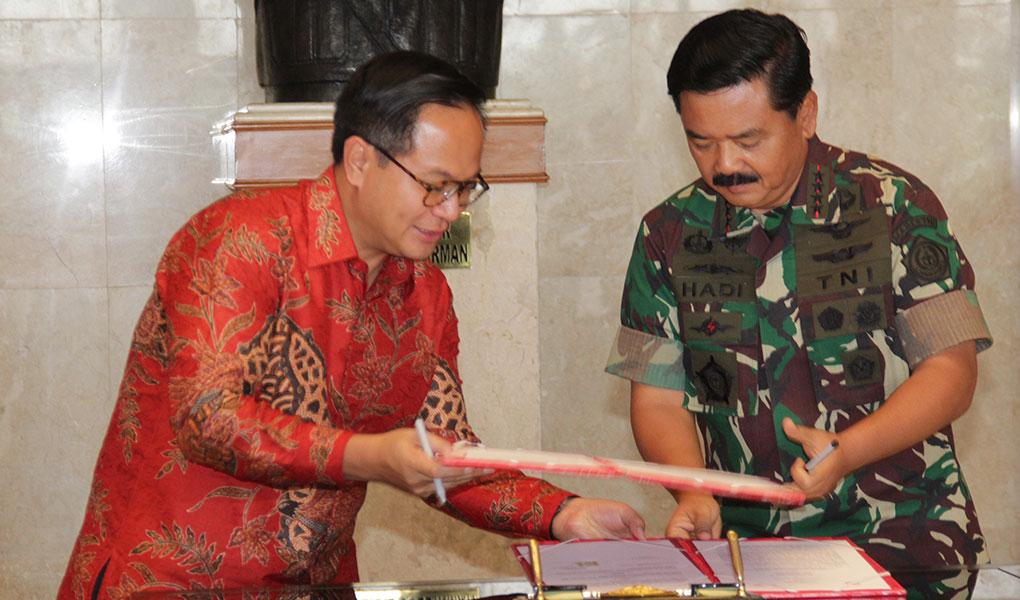 Layanan Perbankan Untuk TNI