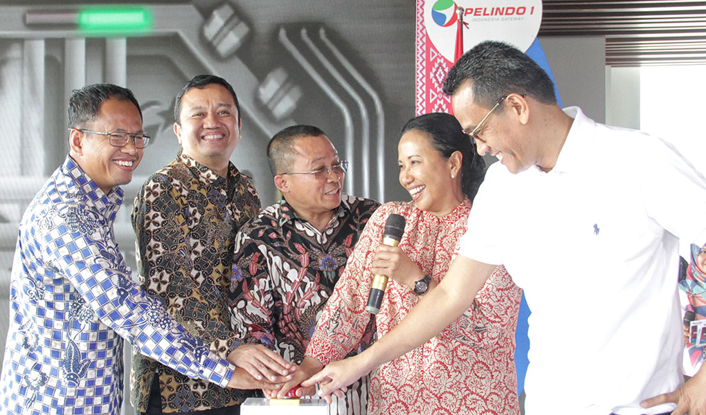 Peresmian Lima Proyek Strategis Pelindo I
