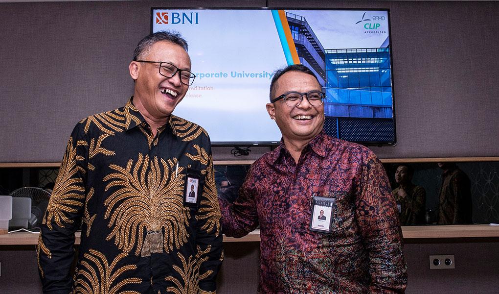 BNI Corporate Learning Improvement Process Raih Akreditasi