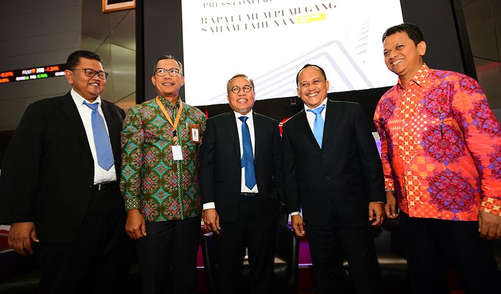 Rapat Umum Pemegang Saham Luar Biasa Tahunan Wika Gedung Tahun 2018