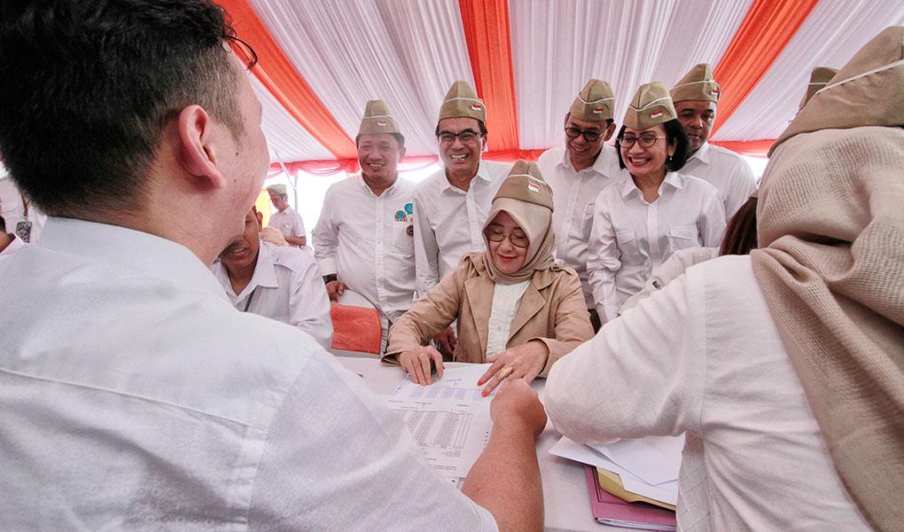 BNI Gelar Akad Massal KPR Di Surabaya