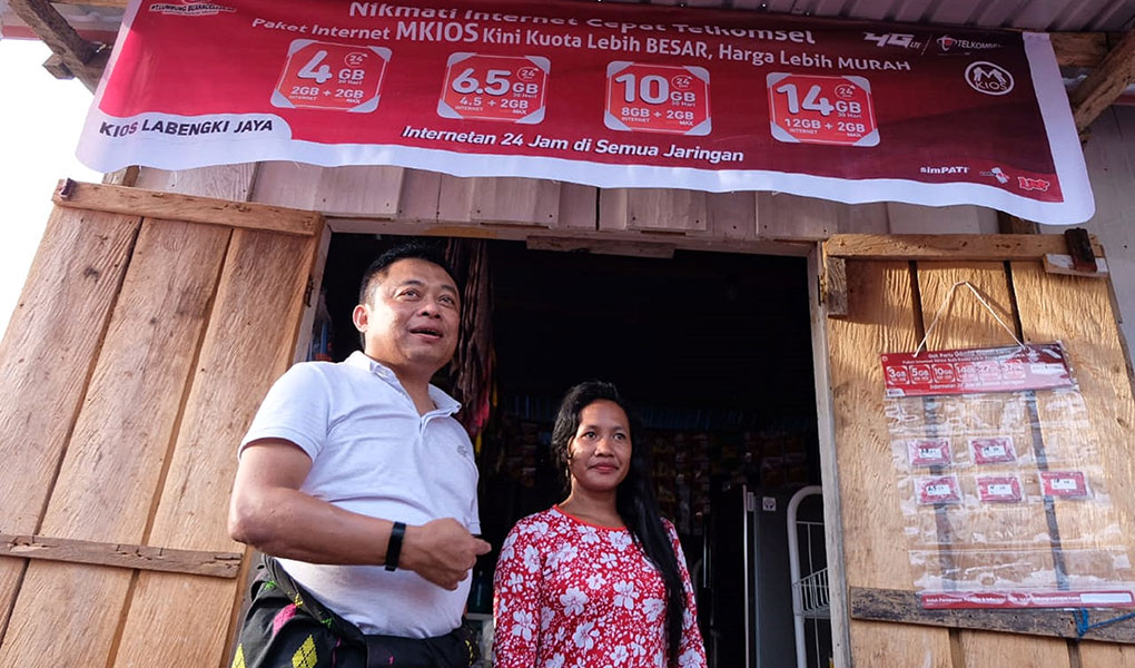 Telkomsel Hadirkan Program Baktiku Negeriku Di Pulau Labengki