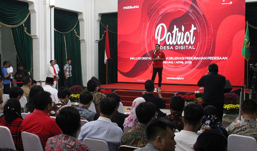 Tingkatkan Ekonomi Masyarakat, Telkomsel Hadirkan Patriot Desa Digital