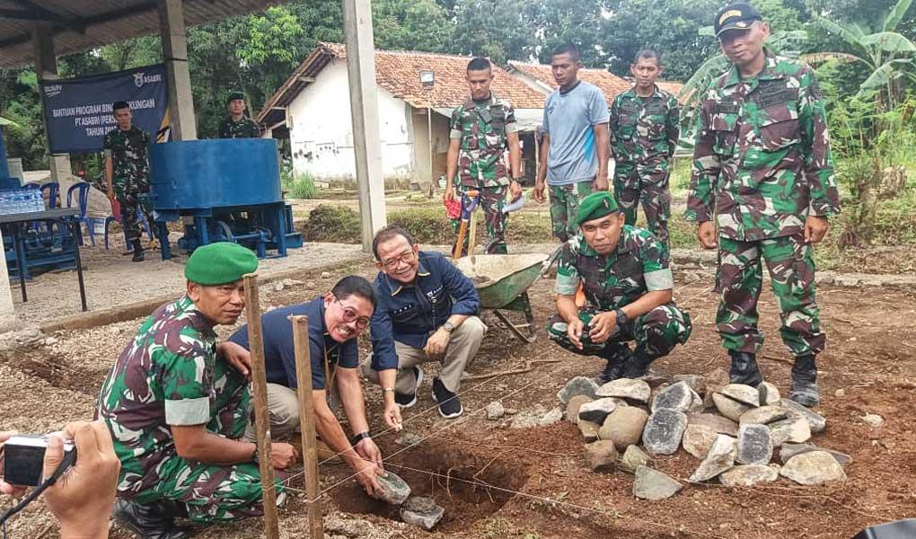ASABRI Berikan Bantuan Bina Lingkungan