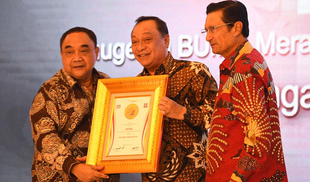 Penghargaan Sebagai Tokoh Finansial